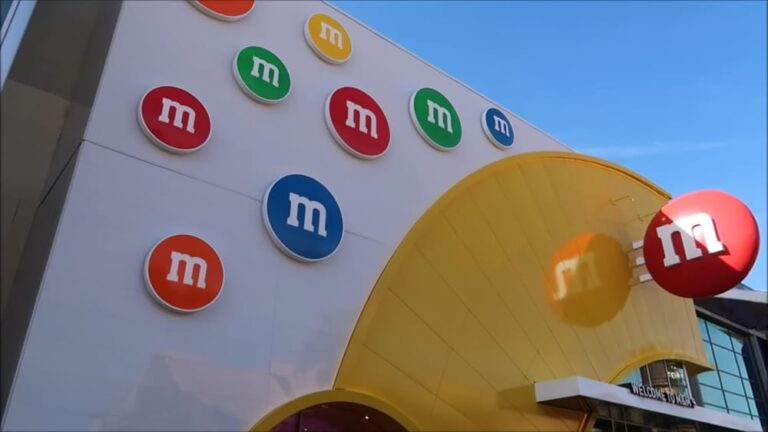 The Brand-New M&M's Store At Disney Springs Has Opened!