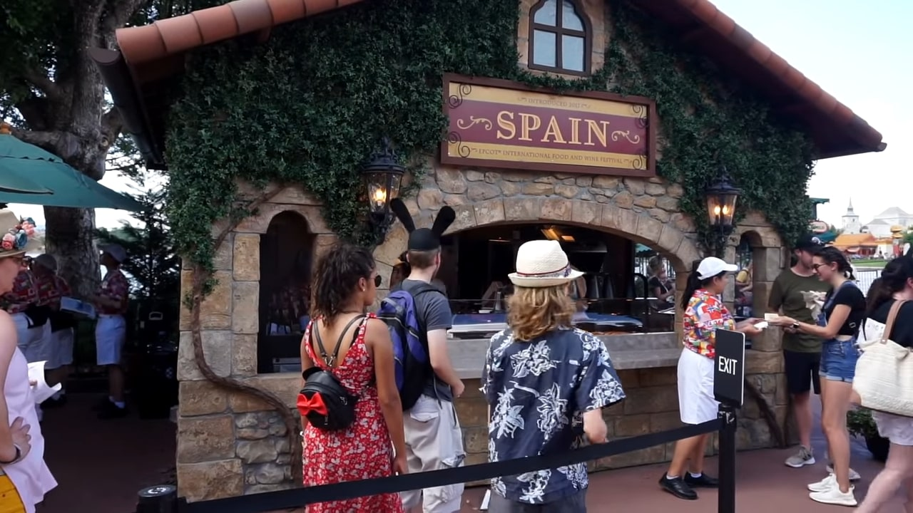 food and wine festival in epcot