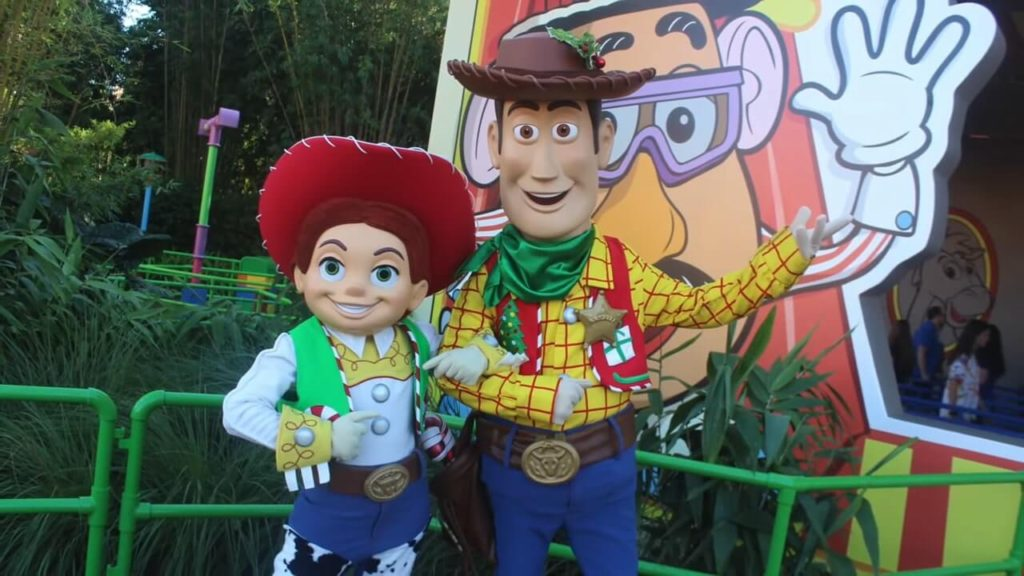 toy story characters flurry of fun