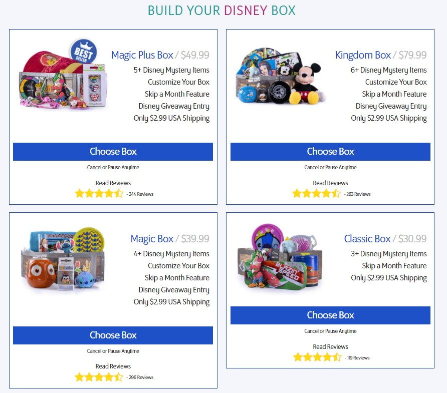 Top 6 Cheapest Disney Subscription Boxes Tips 3