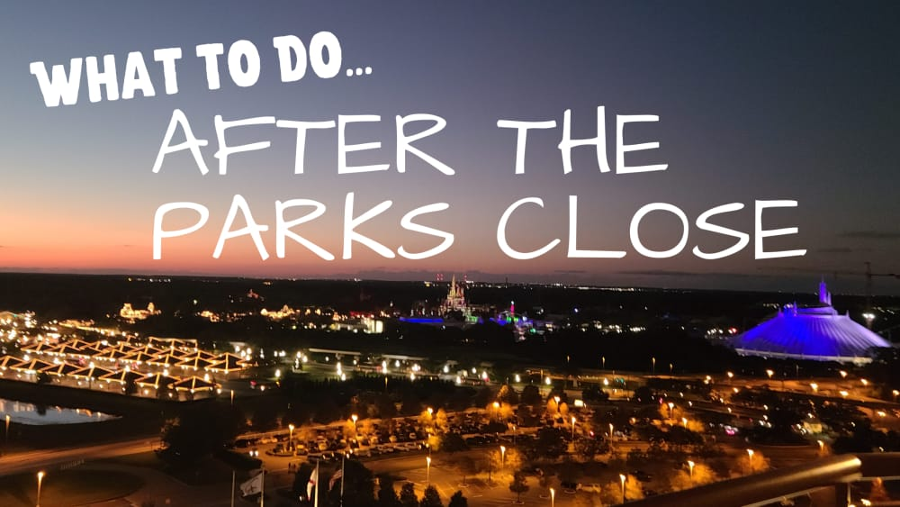 What To Do After The Parks Close At Disney World 1